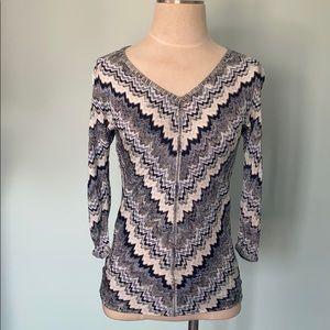 White House Black Market Knit blouse